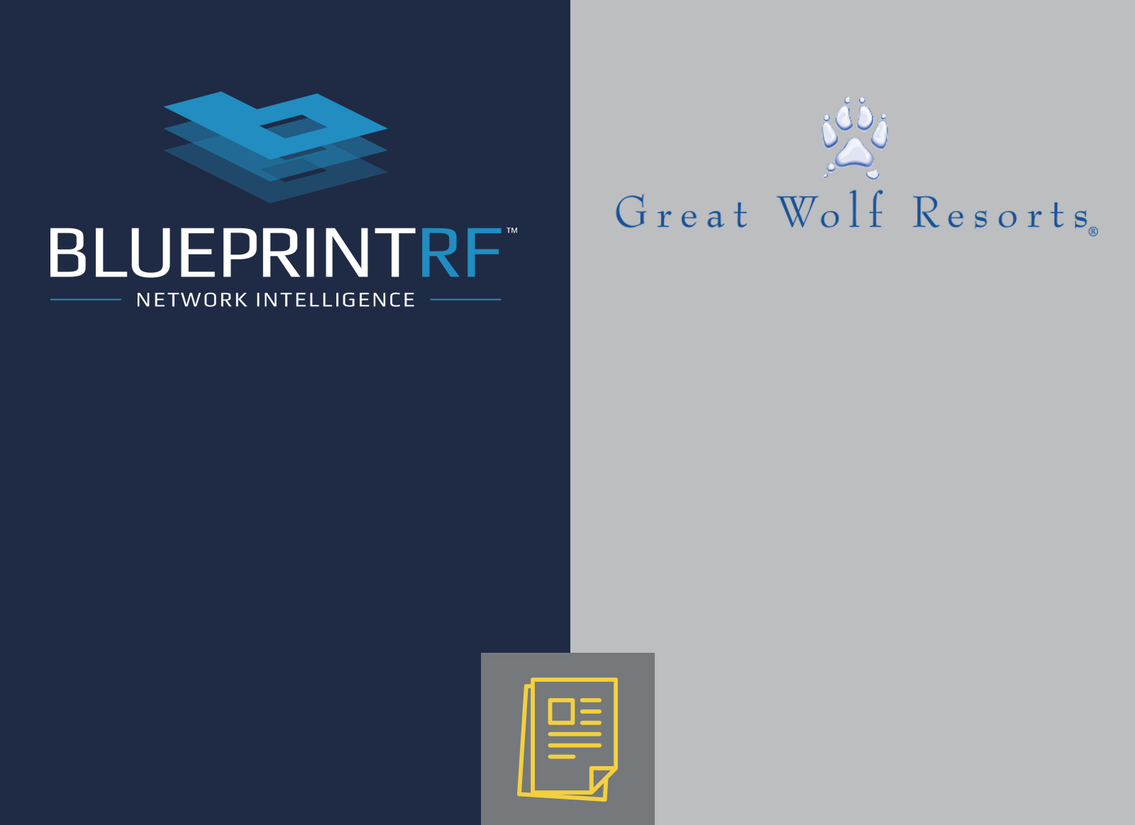 Blueprint RF, Great Wolf Lodge News
